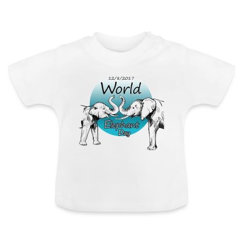 World Elephant Day 2017 - Baby T-Shirt