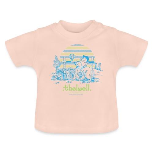 Thelwell Cartoon Pony Sieg - Baby T-Shirt