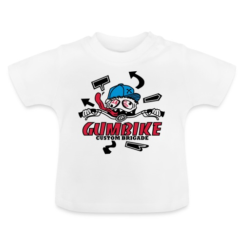 gumbike-monster - T-shirt Bébé