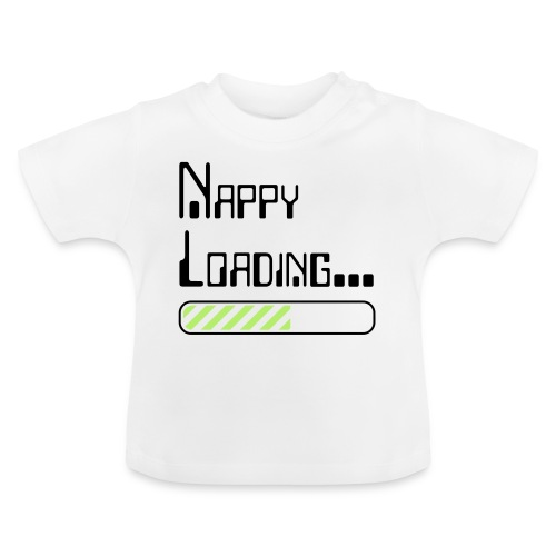 Nappy Loading - Baby T-Shirt
