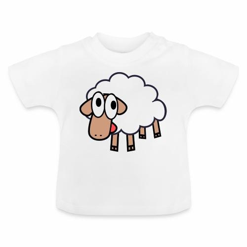 Sheep Cartoon - Baby T-shirt