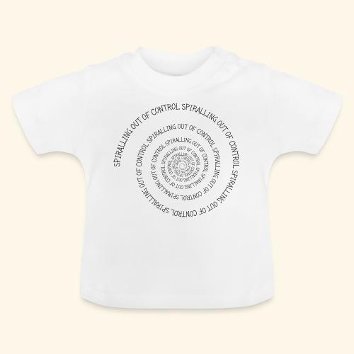 SPIRAL TEXT LOGO BLACK IMPRINT - Baby T-Shirt