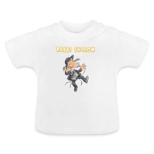 Dancing Rabbi Shalom - T-shirt Bébé