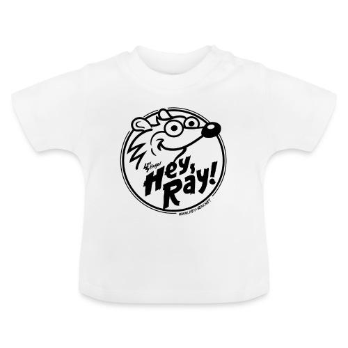 Hey Ray Logo black - Baby T-Shirt