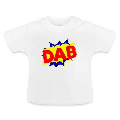 Dab fumetto logo - Maglietta per neonato