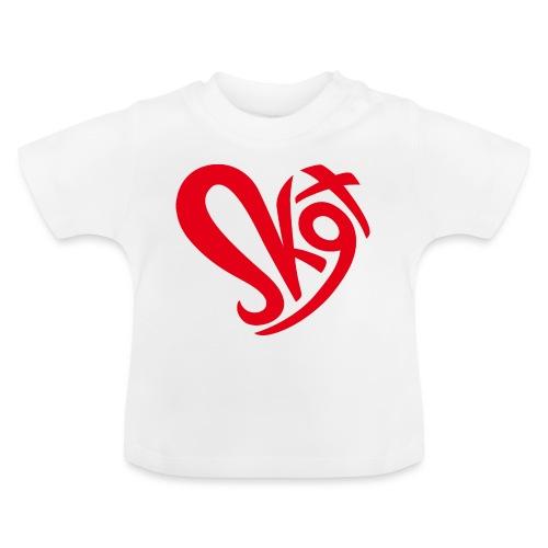 Salzkammergut Herz rot - Baby T-Shirt