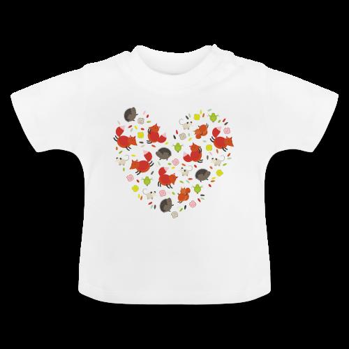 Metikössä - Vauvan t-paita