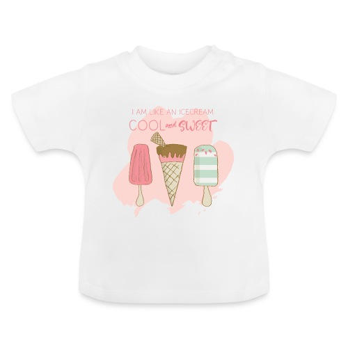 Icecream strawberry - Baby T-Shirt