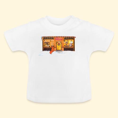 Boulangerie-Pâtisserie de Noël : Renard gourmand - T-shirt Bébé