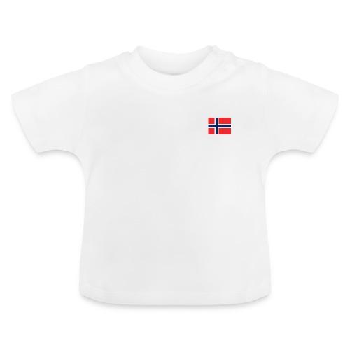 Bandera de Noruega - Camiseta bebé