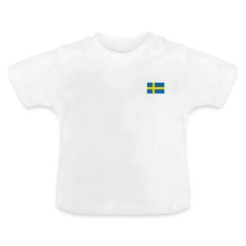Bandera de Suecia - Camiseta bebé