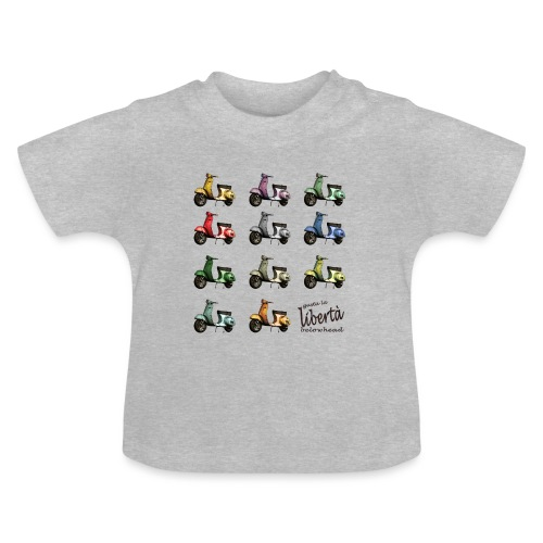 ♂ BIO-SHIRT: gusta la libertà - Baby T-Shirt