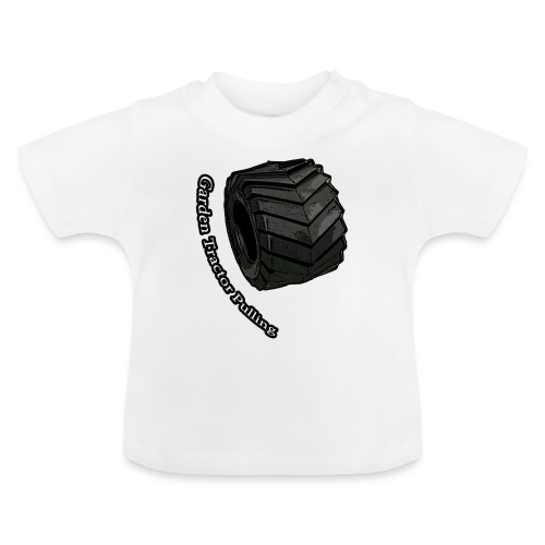 Børne Tractor pulling - Baby T-shirt
