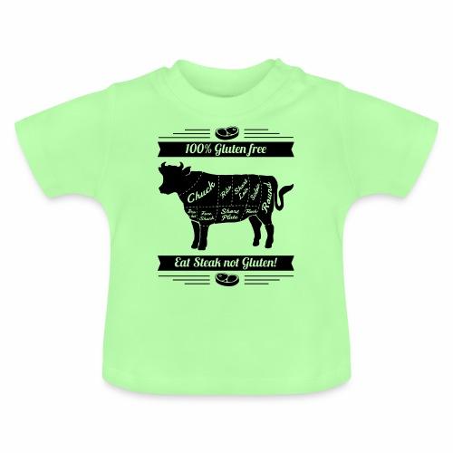 Humorvolles Design für Fleischliebhaber - Baby T-Shirt