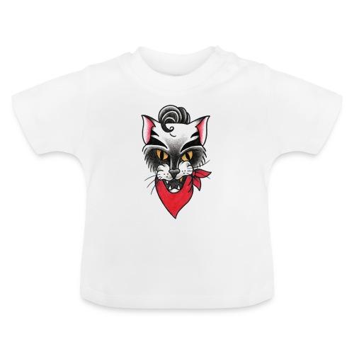 Rockabillycat - Maglietta per neonato