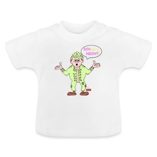 patame Zwuckel Ich wars nicht! Rosa - Baby T-Shirt