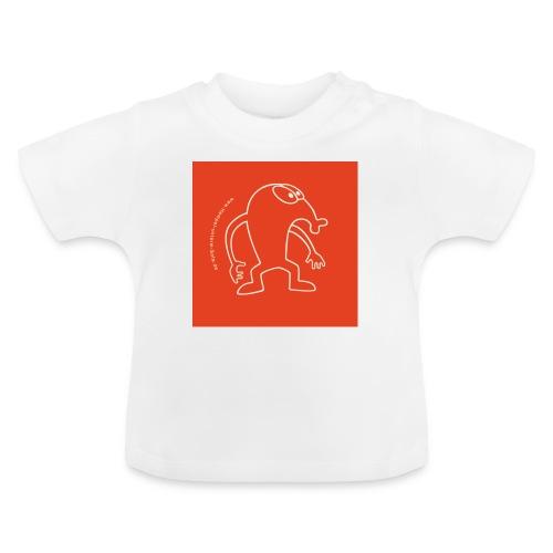 button vektor rot - Baby T-Shirt