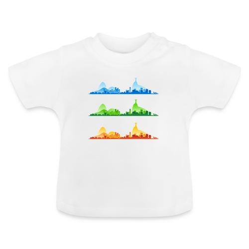 Rio de Janeiro Silhouette - Baby T-Shirt