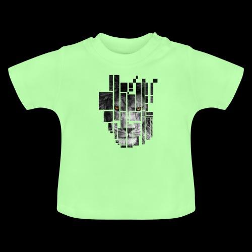 Pixel Lion Tattoo Inspire - Baby T-Shirt