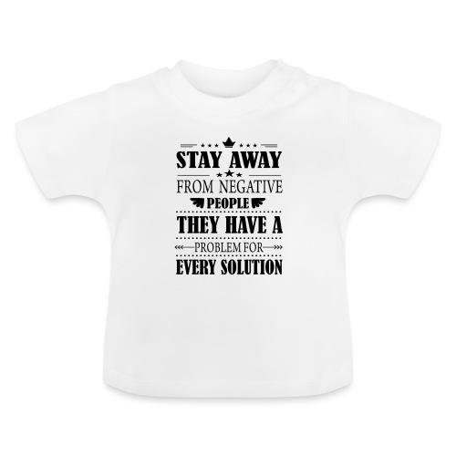 Stay away - Vauvan t-paita