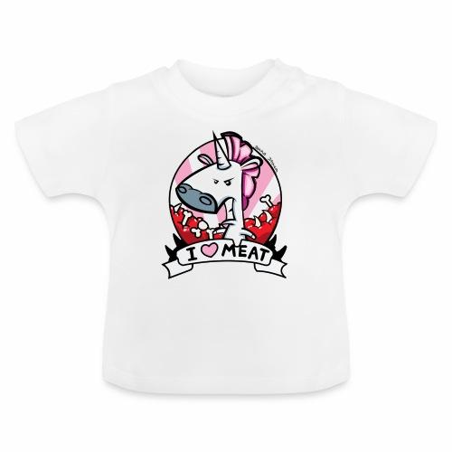 I love Meat by Nina-Nice - Baby T-Shirt