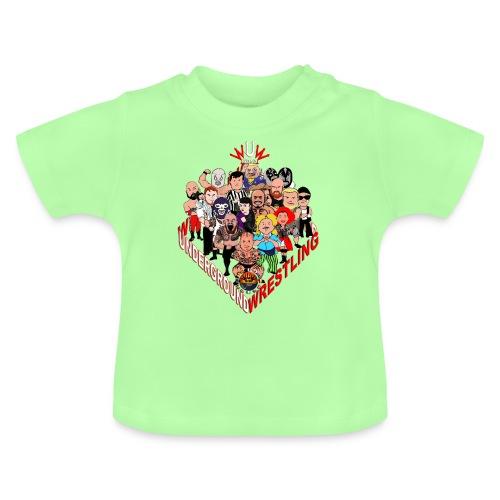 comics-wrestler - Baby T-Shirt