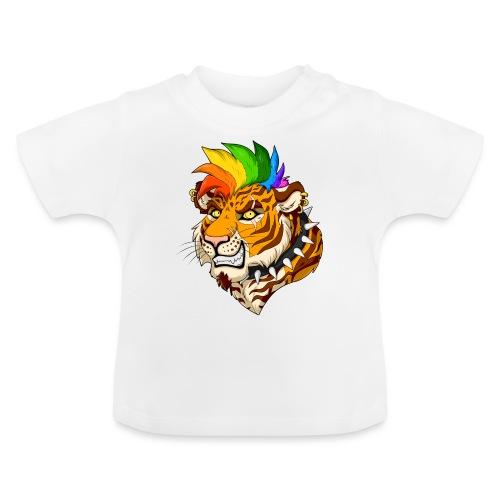 Punk Tiger - Koszulka niemowlęca