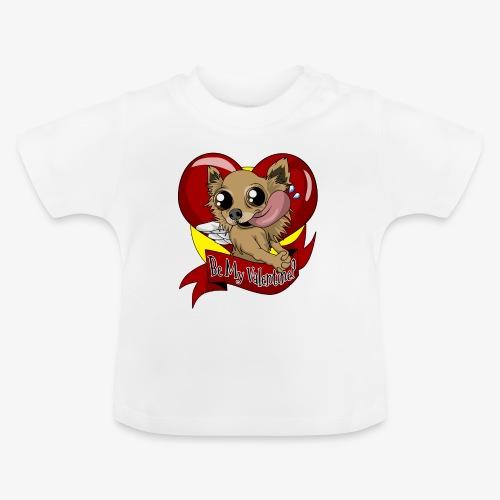 Engla Be my valentine? - Baby-T-shirt