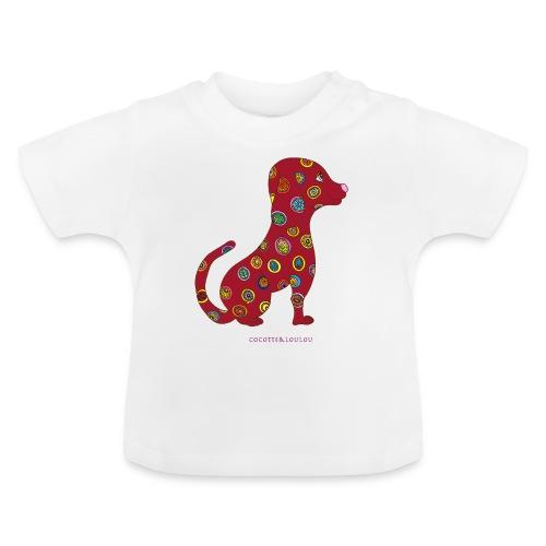 Lilo le chien fleuri - T-shirt Bébé