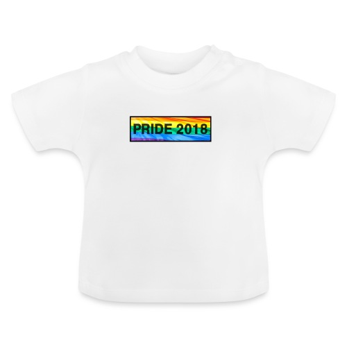 Pride 2018 long design - Baby T-Shirt