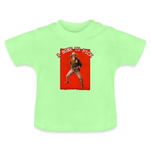Vintage Skeleton Outlaw Cowboy - Baby T-Shirt