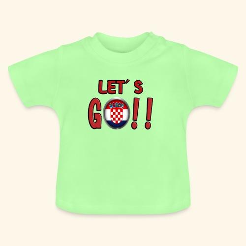 Go Croatia - Maglietta per neonato