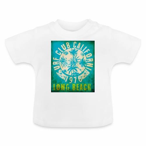 Long Beach Surf Club California 1976 Gift Idea - Baby T-Shirt