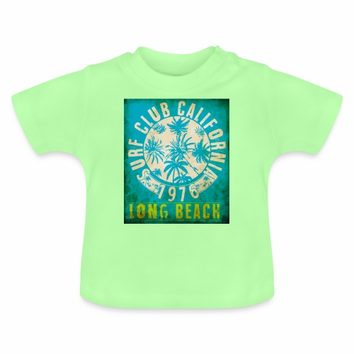 Long Beach Surf Club California 1976 Gift Idea - Baby T-Shirt
