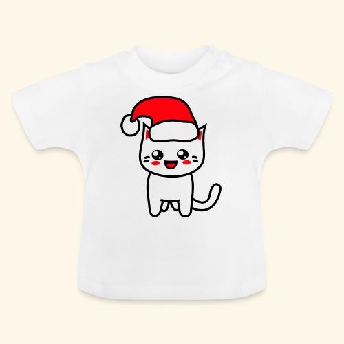 Kawaii Kitteh Christmashat - Baby T-Shirt