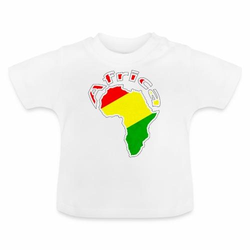 Afrika - rot gold grün - Baby T-Shirt