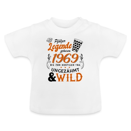 Pfälzer Legende 1969 50. Geburtstag - Baby T-Shirt