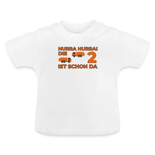Drugie urodziny Śmieciarka - Koszulka niemowlęca