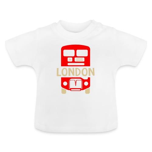 London Bus Roter Doppeldecker London Fan Souvenir - Baby T-Shirt