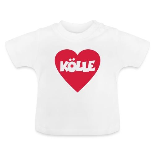 I Love Kölle - Ein Herz für Köln - Baby T-Shirt