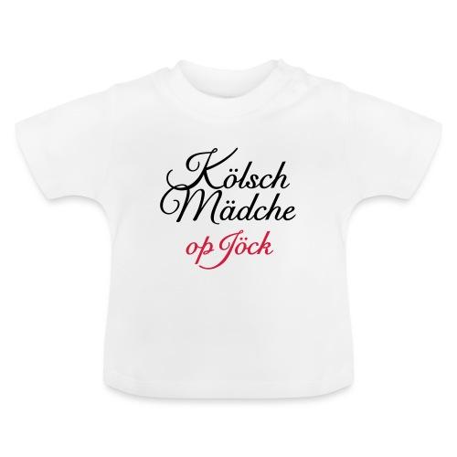 Kölsch Mädche op Jöck - Mädchen aus Köln unterwegs - Baby T-Shirt