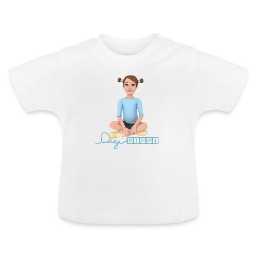 DigiPippi - maskot og logo - Baby T-shirt