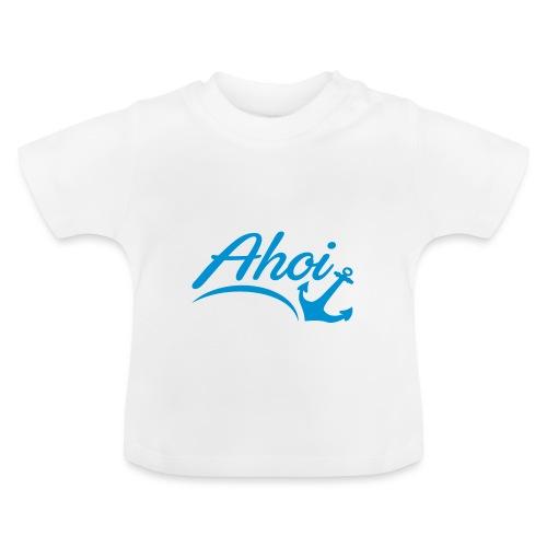 Ahoi Anker Herz Gruß Norddeutschland Hamburg Küste - Baby T-Shirt