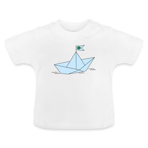 Schiffchen mit Scholle - Baby T-Shirt