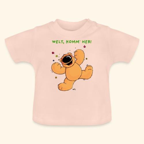 chris bears Welt lass Dich umarmen - Baby T-Shirt