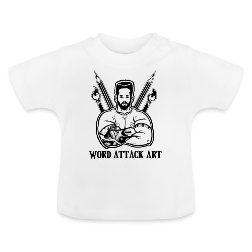 Word Attack Art - Baby T-Shirt