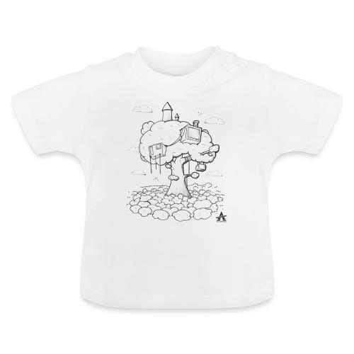 Cabane dans un arbre Sketch Line - T-shirt Bébé