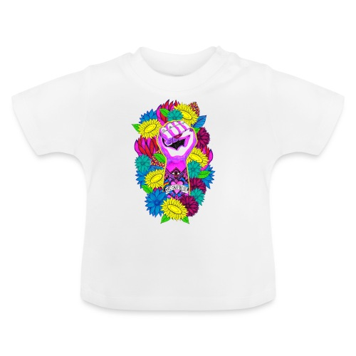 Flower power - Baby-T-shirt