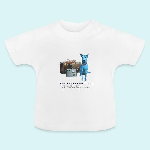 Laly Blue Big - Baby T-Shirt