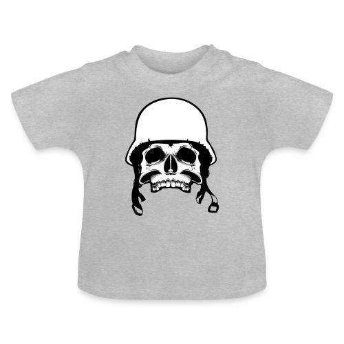 Soldier Helmet Skull 2c - Baby T-Shirt